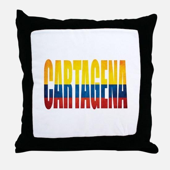 Cartagena Throw Pillow