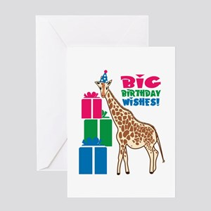 Big Birthday Wishes! Greeting Cards