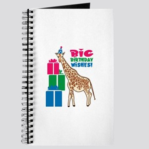 Big Birthday Wishes! Journal