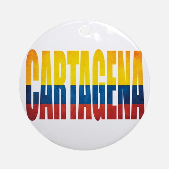 Cartagena Round Ornament