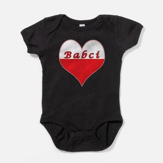 Babci Polish Heart Infant Bodysuit Body Suit