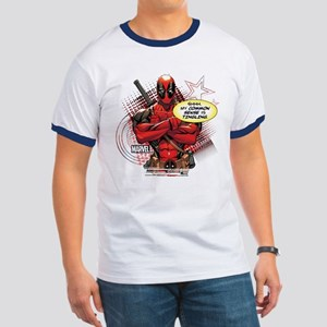 Deadpool My Common Sense Ringer T
