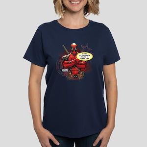 Deadpool My Common Sense Women's Dark T-Shirt
