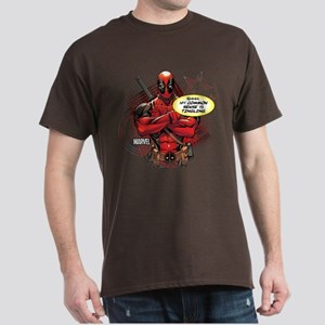Deadpool My Common Sense Dark T-Shirt