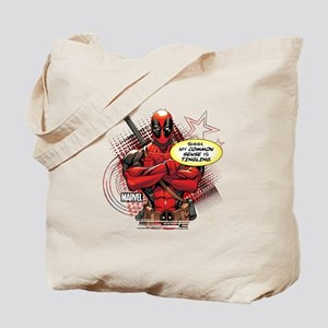 Deadpool My Common Sense Tote Bag