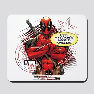 Deadpool My Common Sense Mousepad
