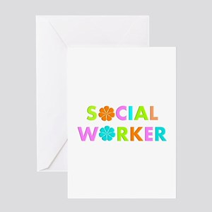 Social Worker 2014 Greeting Cards