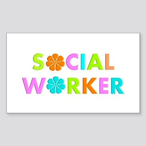 Social Worker 2014 Sticker