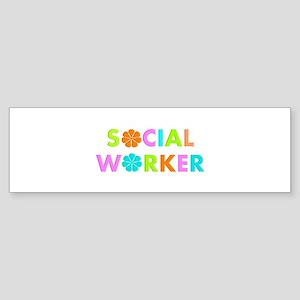 Social Worker 2014 Bumper Sticker