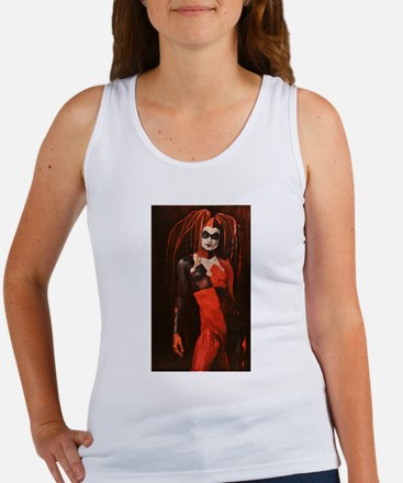 Funny Naked woman Women's Tank Top