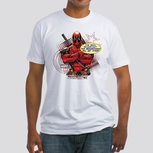 Deadpool Besmirched Fitted T-Shirt