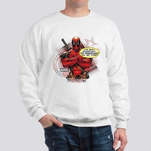 Deadpool Besmirched Sweatshirt