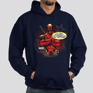 Deadpool Besmirched Hoodie (dark)