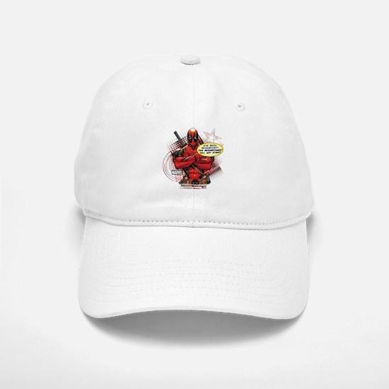 Deadpool Besmirched Baseball Baseball Cap