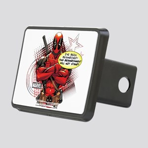 Deadpool Besmirched Rectangular Hitch Cover
