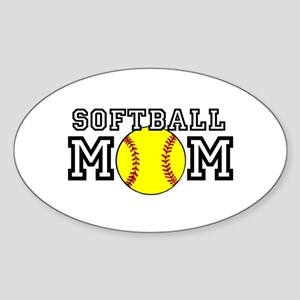 Softball Mom Sticker