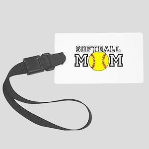 Softball Mom Luggage Tag