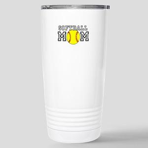 Softball Mom Travel Mug