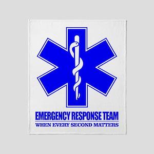 Emergency Response Team Throw Blanket