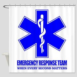 Emergency Response Team Shower Curtain