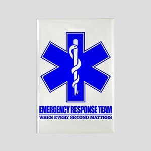 Emergency Response Team Rectangle Magnet
