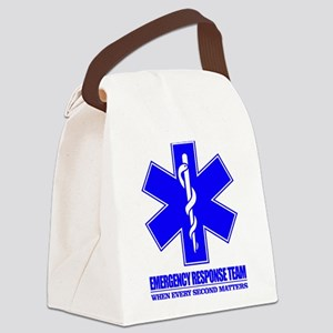 Emergency Response Team Canvas Lunch Bag