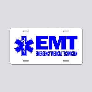 EMT Aluminum License Plate