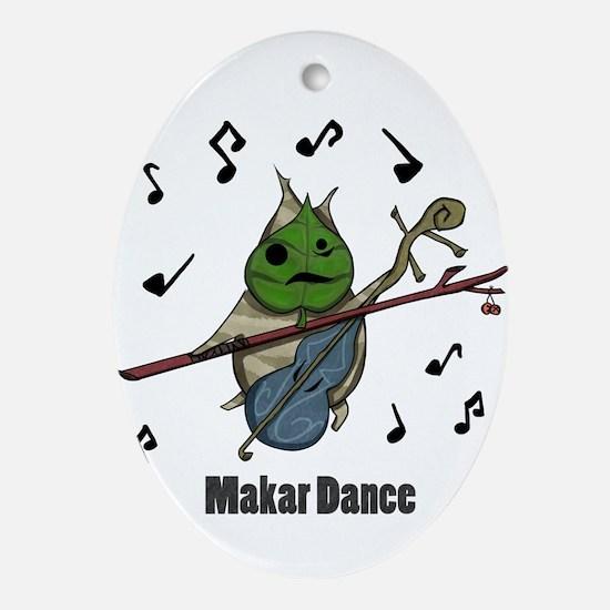 Makar Dance Ornament (Oval)