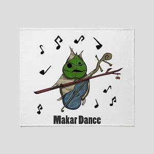 Makar Dance Throw Blanket