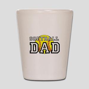 Softball Dad Shot Glass