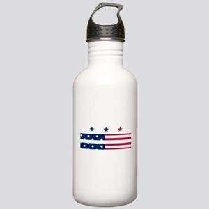 DC Flag Stars and Stripes Water Bottle