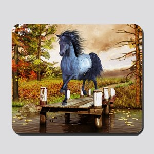 Horse on the Lake Mousepad