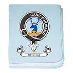 Badge-Stirling [Cadder] baby blanket