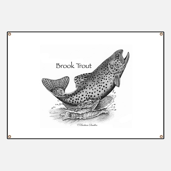 Brook Trout Banner