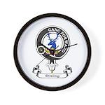 Badge-Stirling [Cadder] Wall Clock