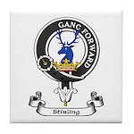 Badge-Stirling [Cadder] Tile Coaster