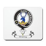 Badge-Stirling [Cadder] Mousepad