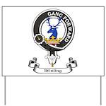 Badge-Stirling [Cadder] Yard Sign