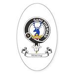 Badge-Stirling [Cadder] Sticker (Oval 10 pk)