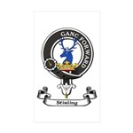 Badge-Stirling [Cadder] Sticker (Rectangle 50 pk)