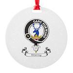 Badge-Stirling [Cadder] Round Ornament