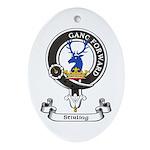 Badge-Stirling [Cadder] Oval Ornament
