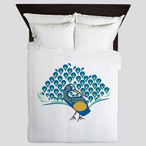 Peacock Queen Duvet