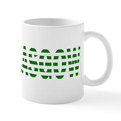 Glasgow Green and White Mugs
