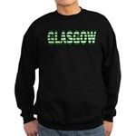 Glasgow Green and White Sweatshirt