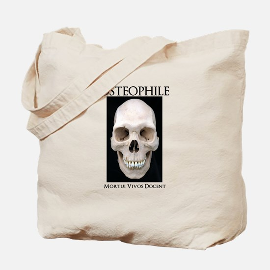 OSTEOPHILE: for bone lovers Tote Bag