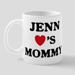 Jenn loves mommy Mug