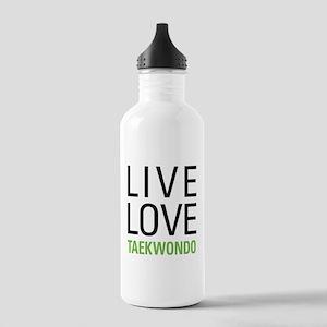 Live Love Taekwondo Stainless Water Bottle 1.0L