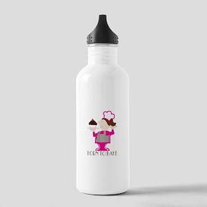 Born To Bake Water Bottle