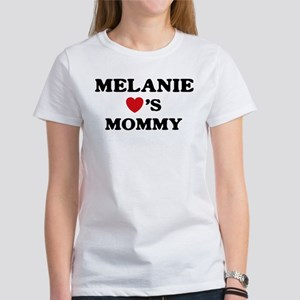 Melanie loves mommy Women's T-Shirt